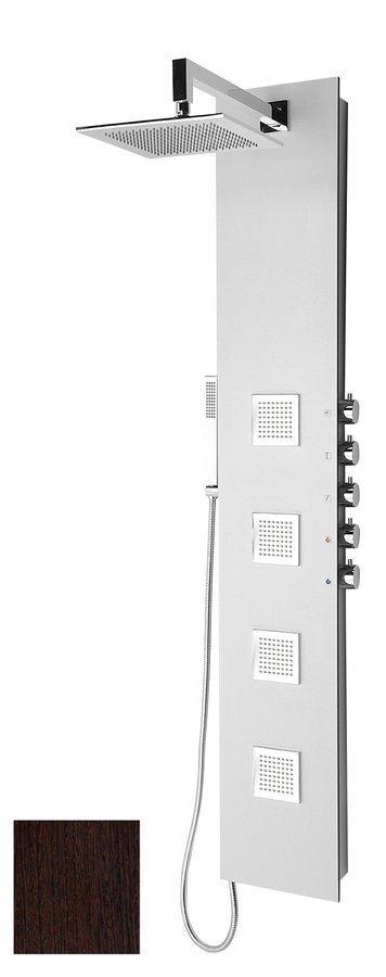 5SIDE SQUARE sprchový panel 250x1550mm, wenge