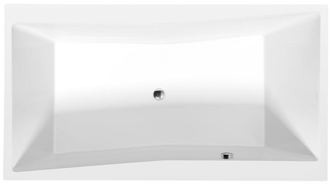 QUEST obdélníková vana 180x100x49cm, bílá