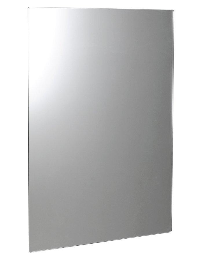 PLAIN zrcadlo 50x70cm, zakulacené rohy, bez úchytu