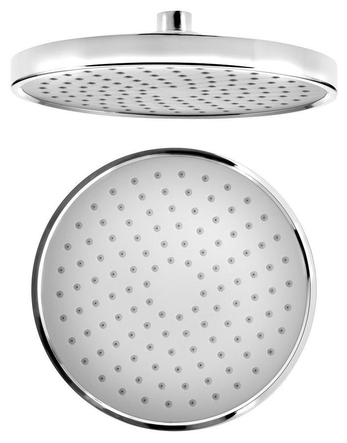 Hlavová sprcha, otočný kloub, průměr 200mm, chrom