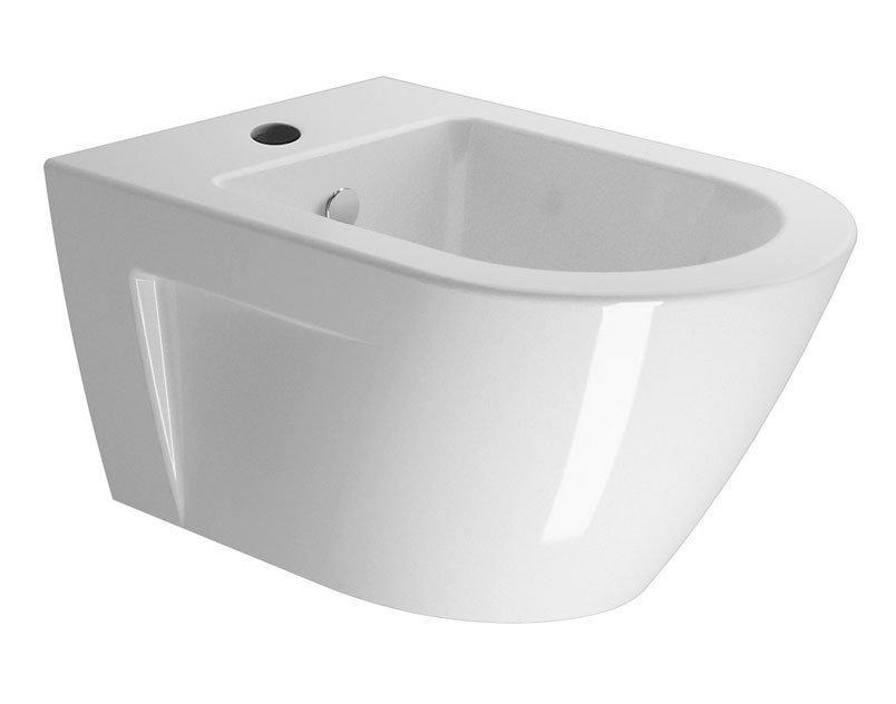 NORM bidet závěsný, 36x55 cm, bílá ExtraGlaze