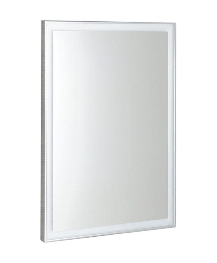 LUMINAR LED podsvícené zrcadlo v rámu 600x800mm, chrom