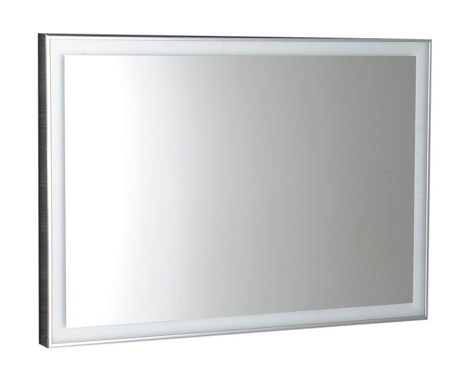 LUMINAR LED podsvícené zrcadlo v rámu 900x500mm, chrom