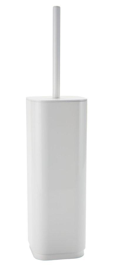 SEVENTY WC štětka na postavení, bílá