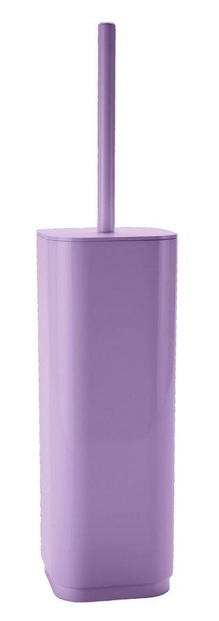 SEVENTY WC štětka na postavení, lila
