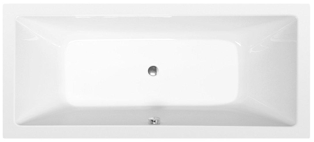 KRYSTA obdélníková vana 180x80x39cm, bílá