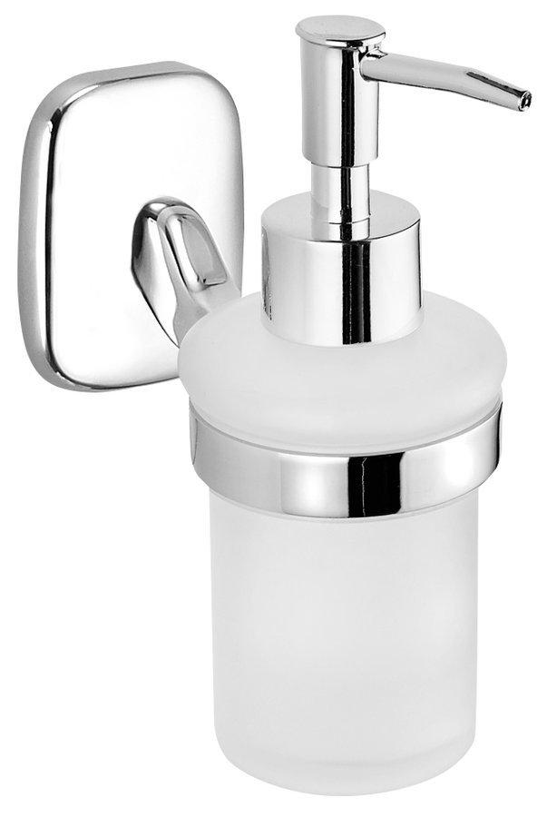 RUMBA dávkovač mýdla 160ml, mléčné sklo