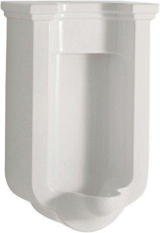 WALDORF urinál se zakrytým přívodem vody, 44x72x37 cm