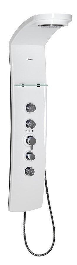 LUK termostatický sprchový panel 250x1300mm, nástěnný