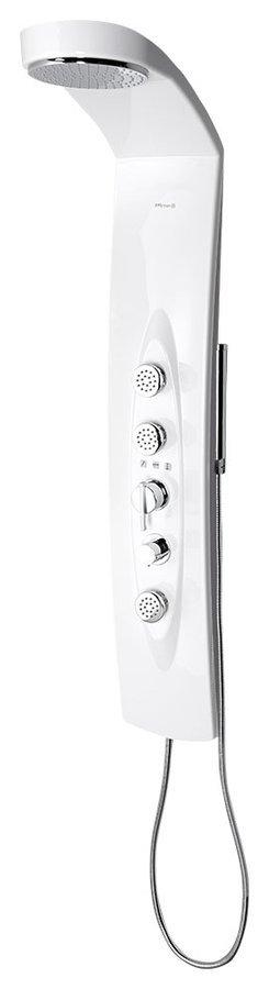 MOLA termostatický sprchový panel 210x1300mm, nástěnný