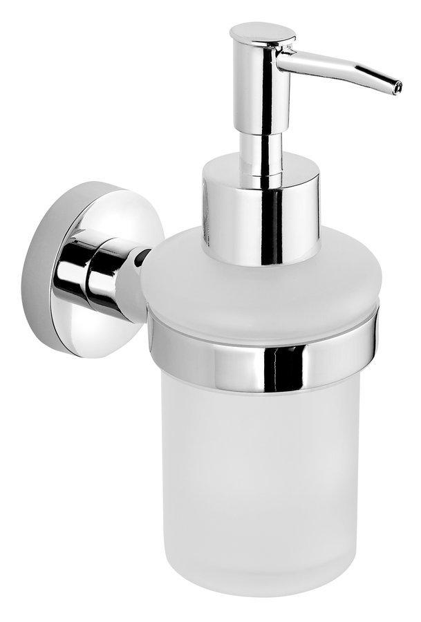 SAMBA dávkovač mýdla 150ml, mléčné sklo