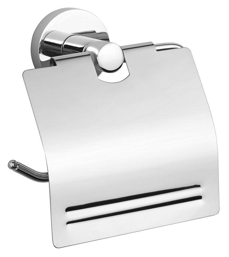 SAMBA držák toaletního papíru s krytem, chrom