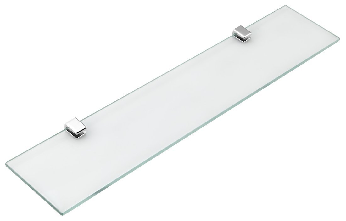 SAMBA skleněná police 500mm, chrom