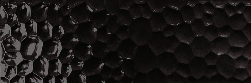 UNIK R90 Bubbles black glossy (bal.= 1,08m2)