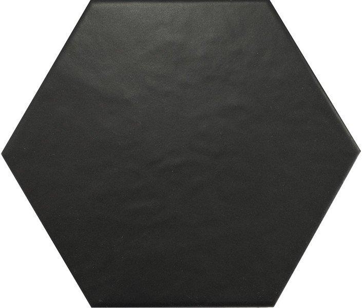 HEXATILE Negro Mate 17,5x20 (EQ-4) (1bal=0,714m2)