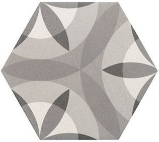 HEXATILE Nature B&W 17,5x20 (EQ-10D) (1bal=0,714m2)