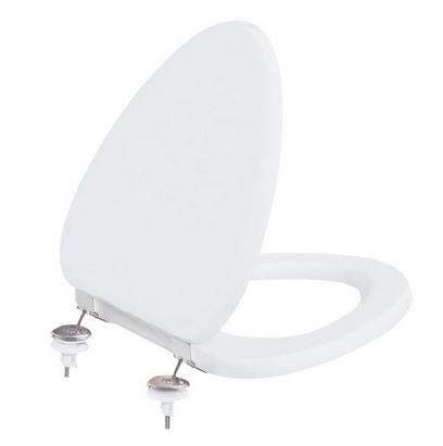 KID WC sedátko duroplast, kovové panty, bílá