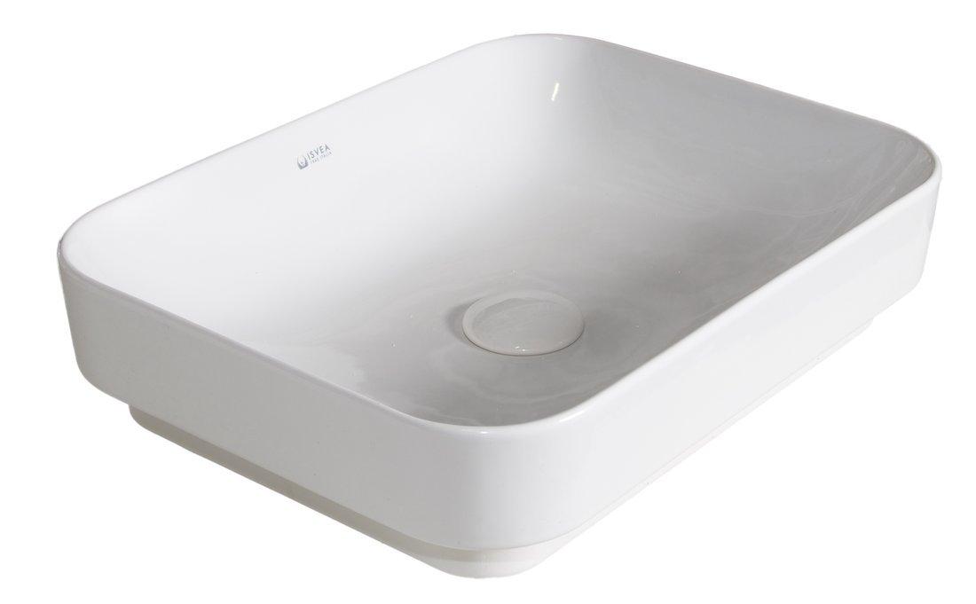 SOTT AQUA keramické umyvadlo 50x38cm, bílá