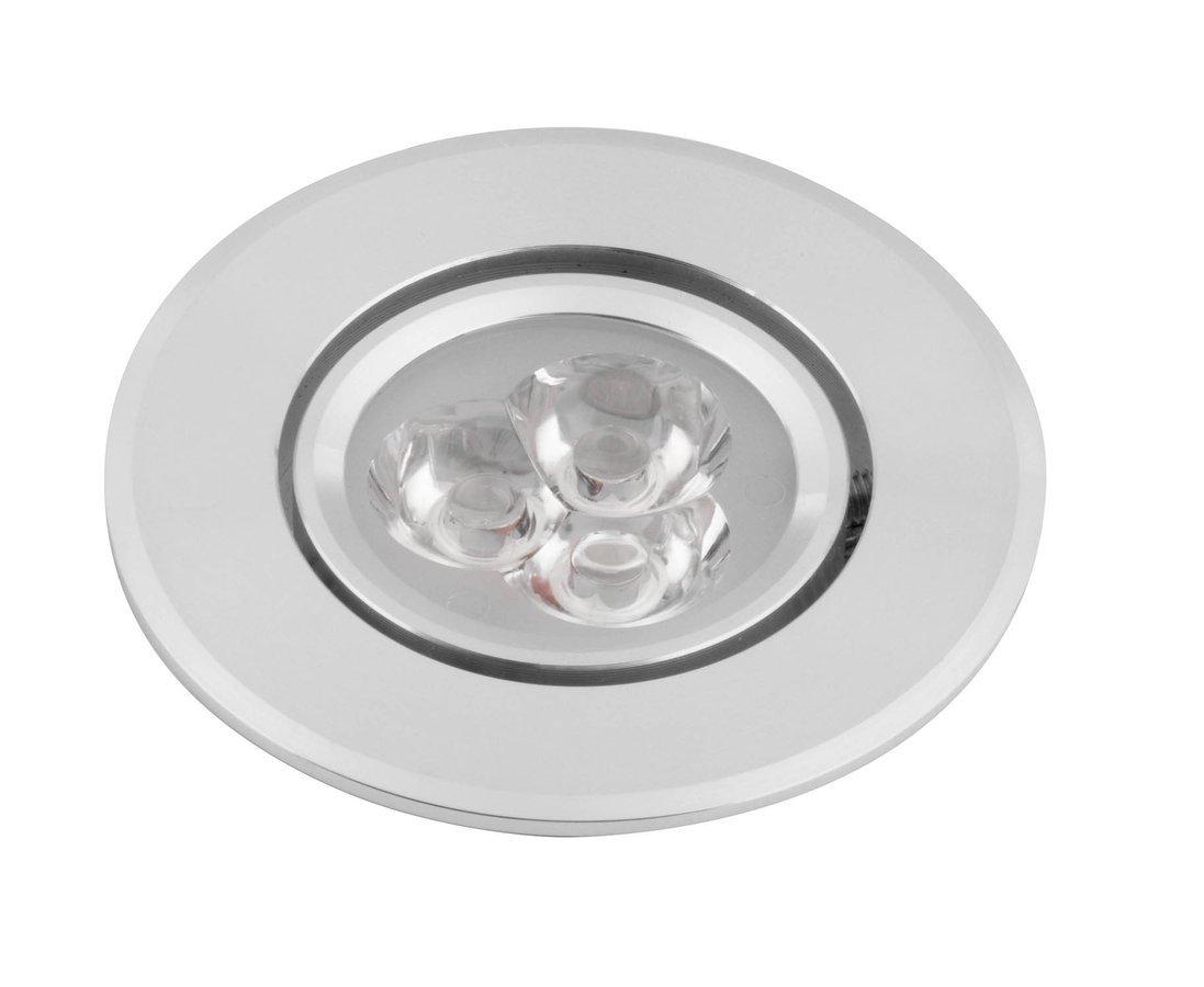 DORIN LED podhledové svítidlo 3x1W, 230V, 68 mm, studená bílá, 60 st.