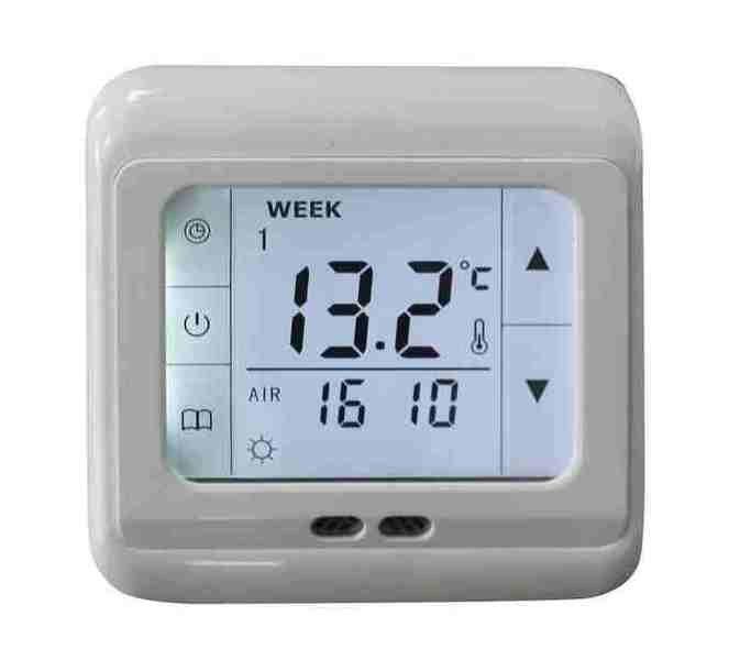 Dotykový digitální termostat pro regulaci topných rohoží