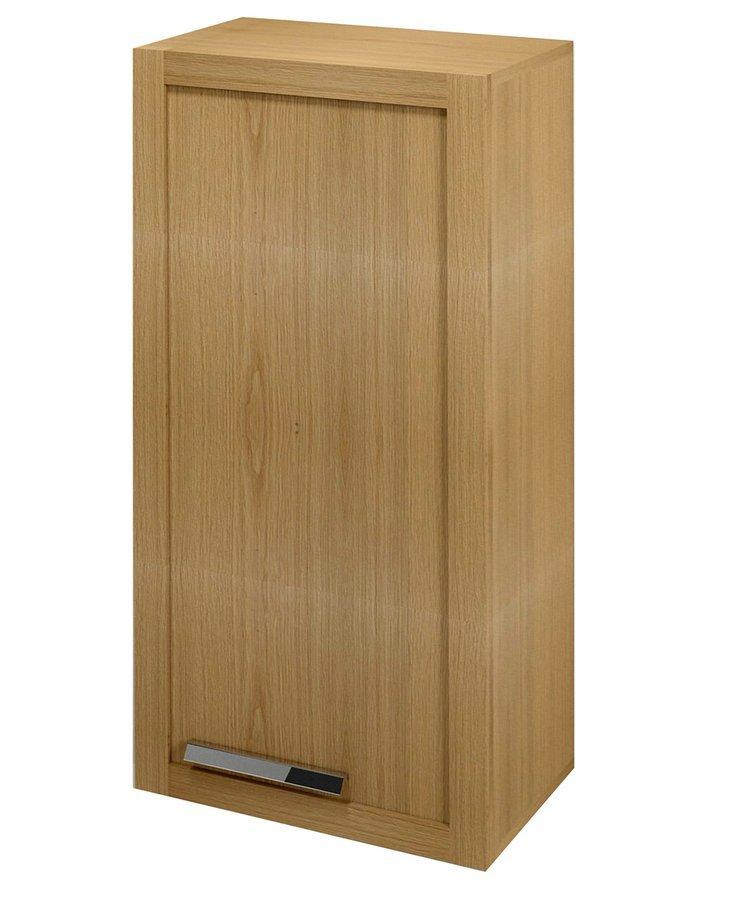LARITA skříňka nízká 40x90x25cm, pravá, dub natural