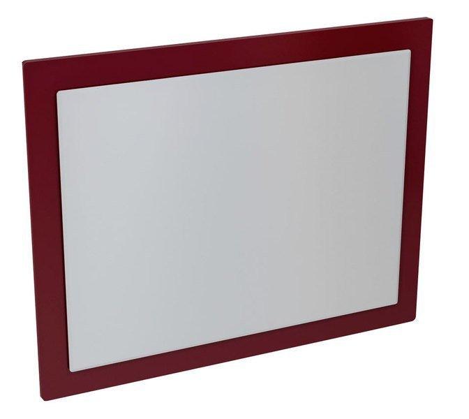 MITRA zrcadlo v rámu 920x720x40mm, bordó