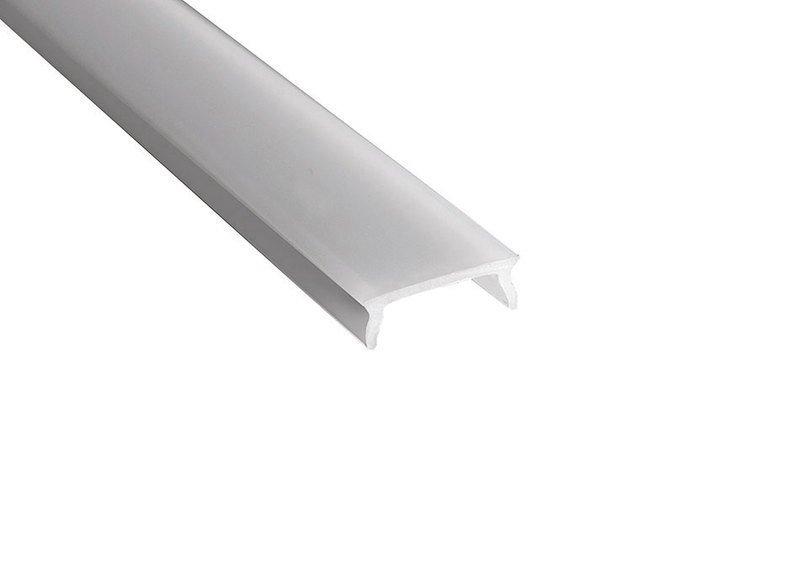 Mléčný kryt LED profilu, 2m