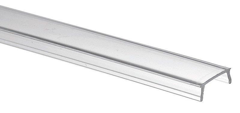 Průhledný kryt LED profilu, 1m