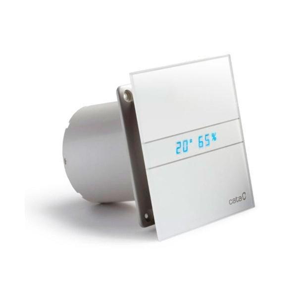 E-120 GTH koupelnový ventilátor axiální s automatem, 6W/11W, potrubí 120mm, bílá