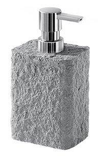 ARIES dávkovač mýdla na postavení, šedá