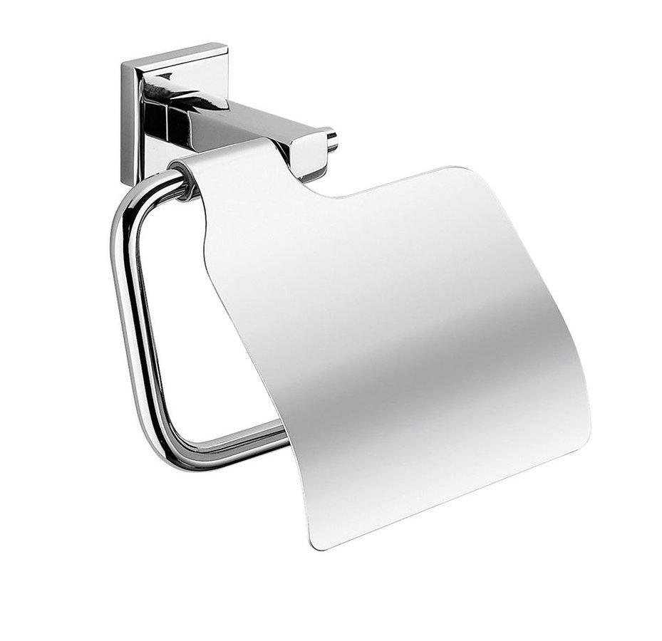 COLORADO držák toaletního papíru s krytem, chrom