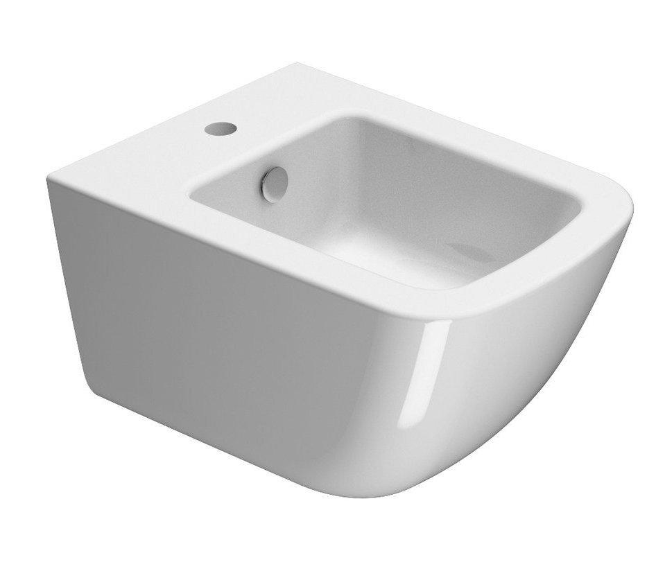 SAND bidet závěsný, 50x37 cm, bílá ExtraGlaze