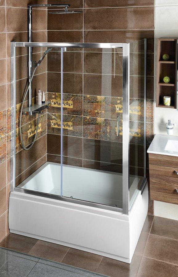 Deep obdélníkový sprchový kout 1200x750mm L/P varianta, čiré sklo