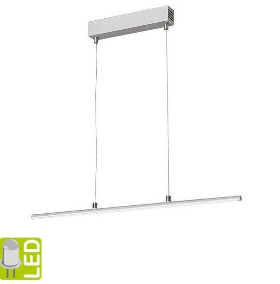 HASUN LED závěsné svítidlo 125cm, 20W, 230V, hliník