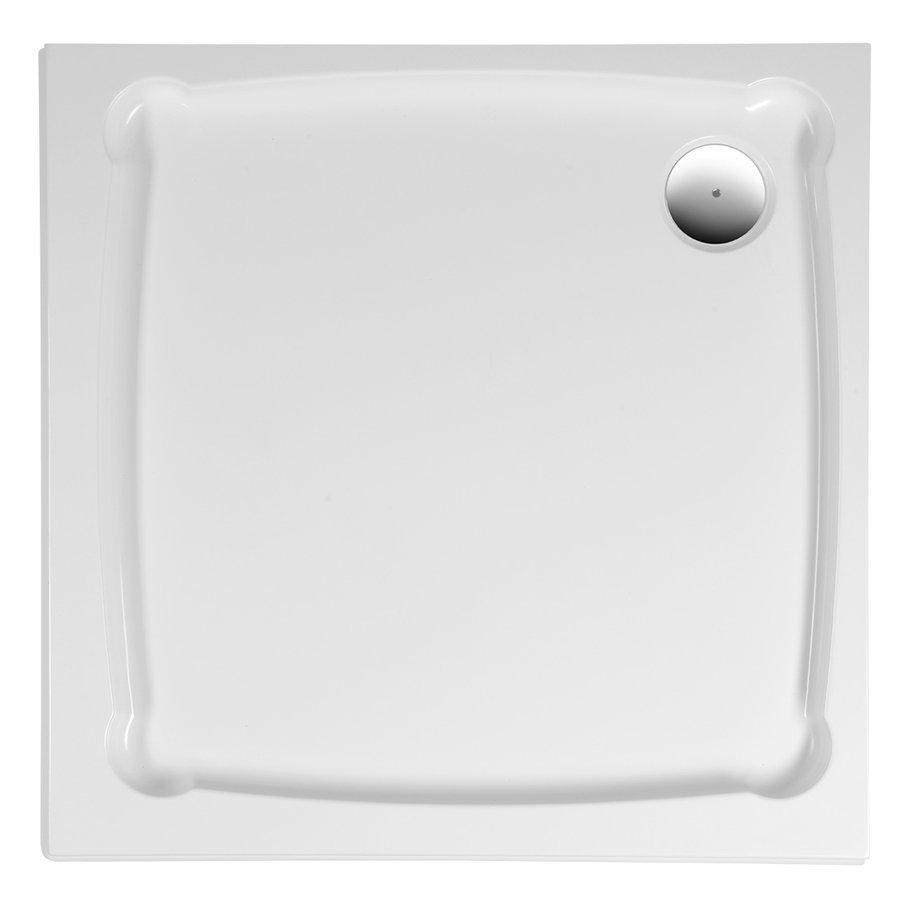 DIONA sprchová vanička z litého mramoru, čtverec 90x90x7,5cm