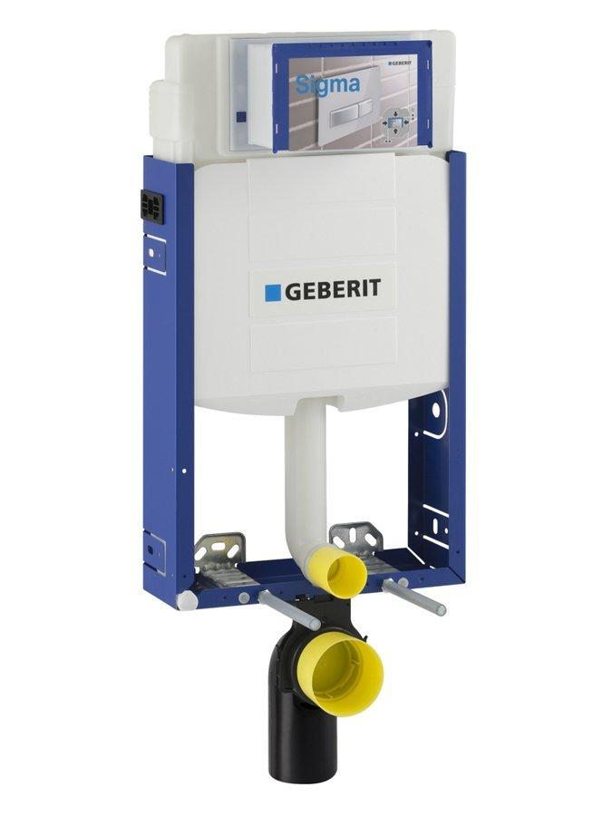 GEBERIT KOMBIFIX ECO podomítková nádržka pro zazdění Sigma 12 cm, v. 108 cm
