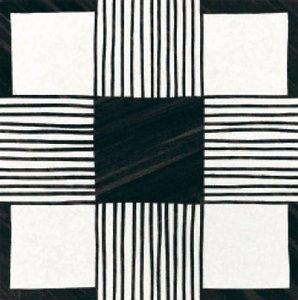 CAPRICE DECO Cloth B&W (EQ-5) (1bal=1m2)