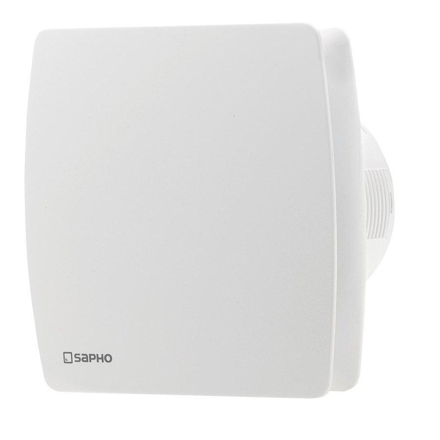 LEX koupelnový ventilátor axiální s časovačem, 15W, potrubí 100mm, bílá