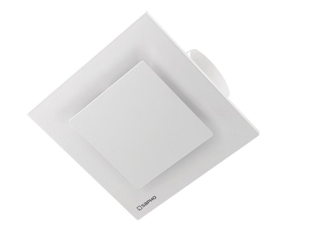 TECTO stropní ventilátor axiální s časovačem, 20W, potrubí 100mm, bílá