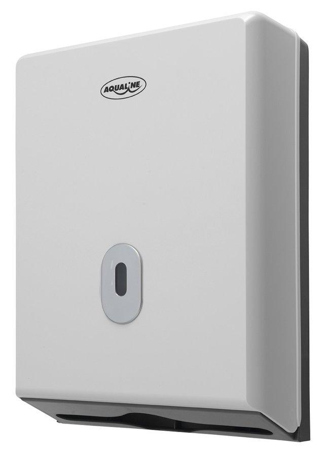 Zásobník papírových ručníků 250x350mm, bílý