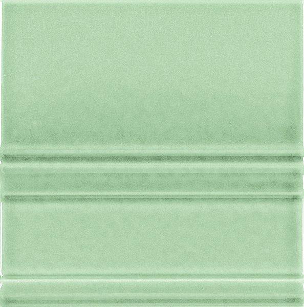 MODERNISTA Rodápie Clasico C/C Verde Claro 15x15