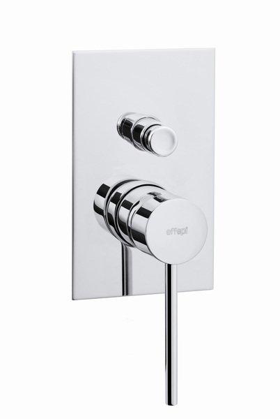 THOR podomítková sprchová baterie, 2 výstupy, chrom
