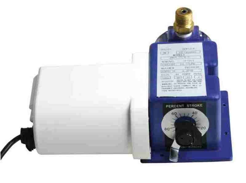 Dávkovač solného roztoku pro parní sauny, Q=15,77 l/hod