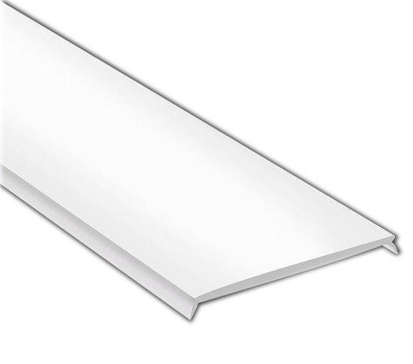 Mléčný kryt LED profilu KL6367-1, 1m