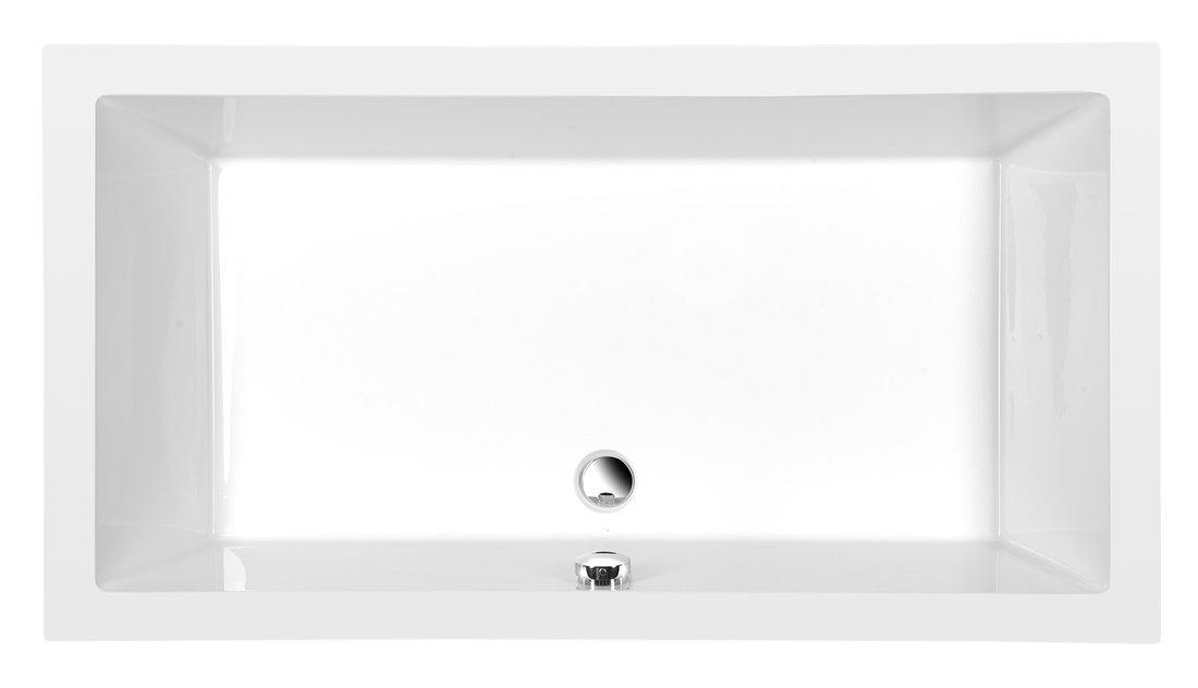 DEEP hluboká sprchová vanička s konstrukcí, obdélník 120x75x26cm, bílá