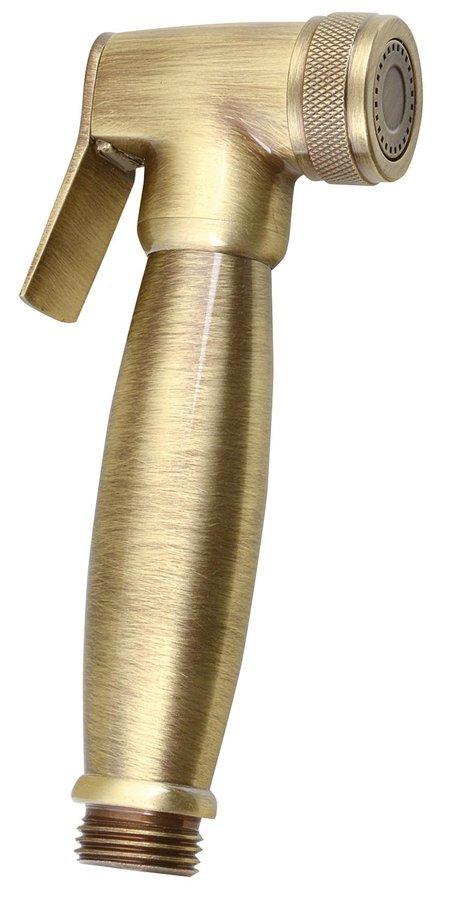 Bidetová sprška retro, bronz