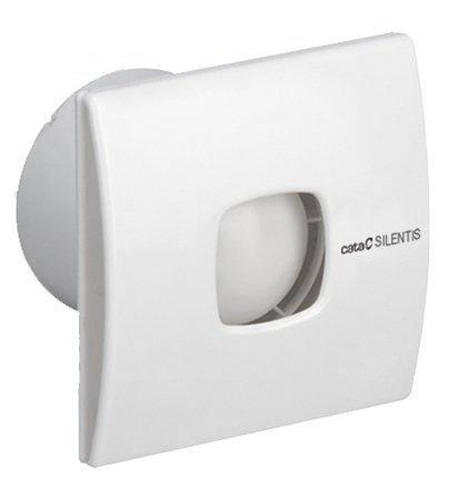 SILENTIS 10 T koupelnový ventilátor axiální s časovačem, 15W, potrubí 100mm,bílá