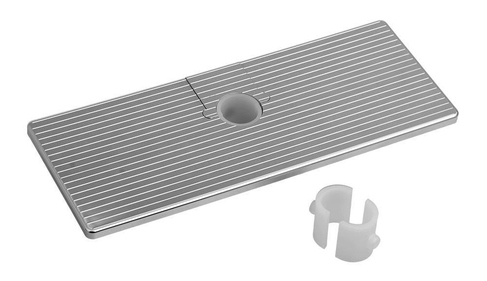 Posuvná polička pro tyče a sprchové sloupy, ABS/chrom