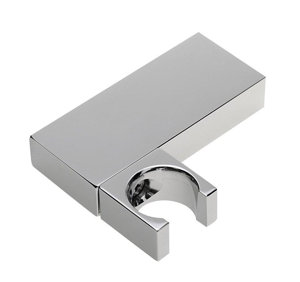 Držák sprchy hranatý, otočný, chrom