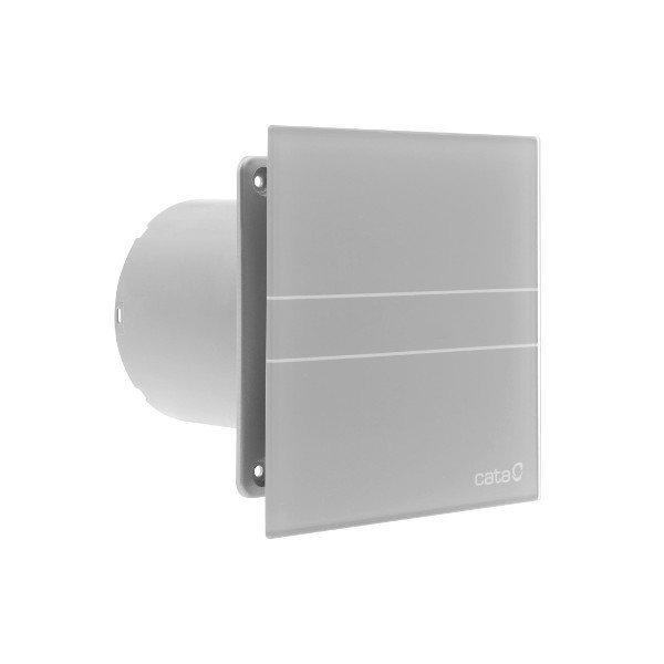 E-100 GST koupelnový ventilátor axiální s časovačem, 8W, potrubí 100mm, stříbrná